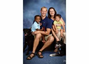 Family picture from our church directory