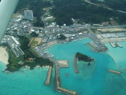 Okinawa from the air