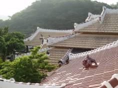 Rooflines and shi-sa in Okinawa