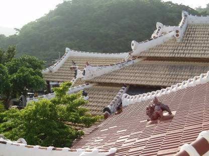 Rooflines and shi-sa in Okinawa